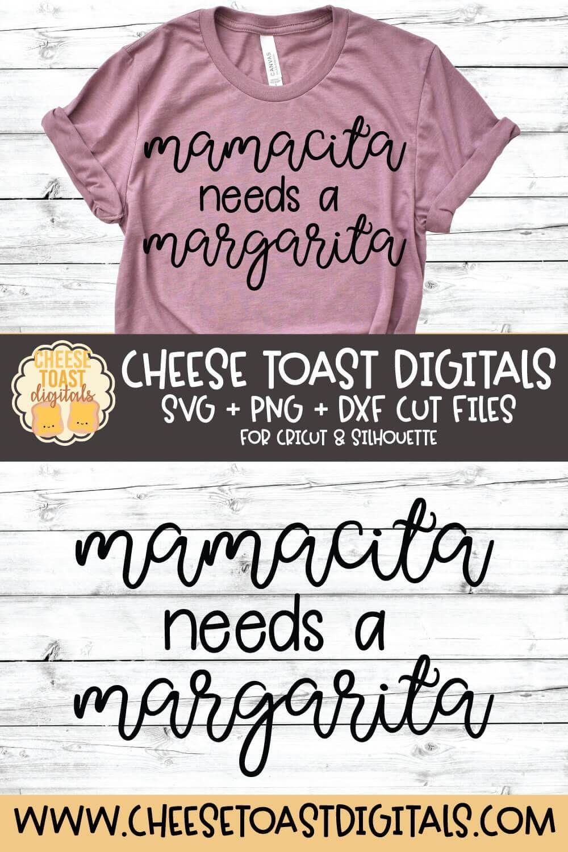 Download Mamacita Needs A Margarita in 2020   Margarita, Cricut ...