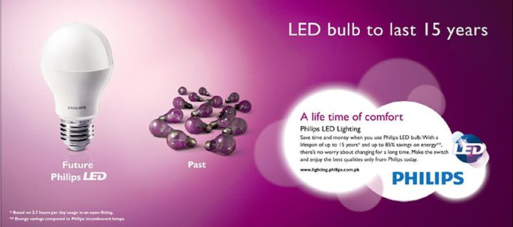 It s all bright with Philips LED Light -  056b358e50927
