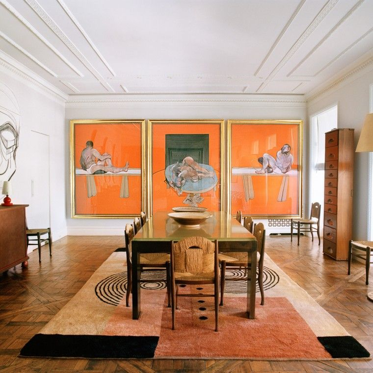 An eye for beauty room apartments and interiors - Deco room oranje ...