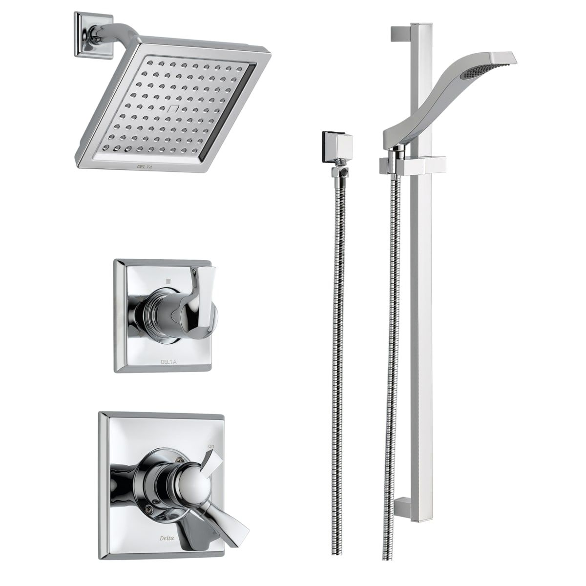 Delta Dss Dryden 1701 Shower Systems Shower Heads
