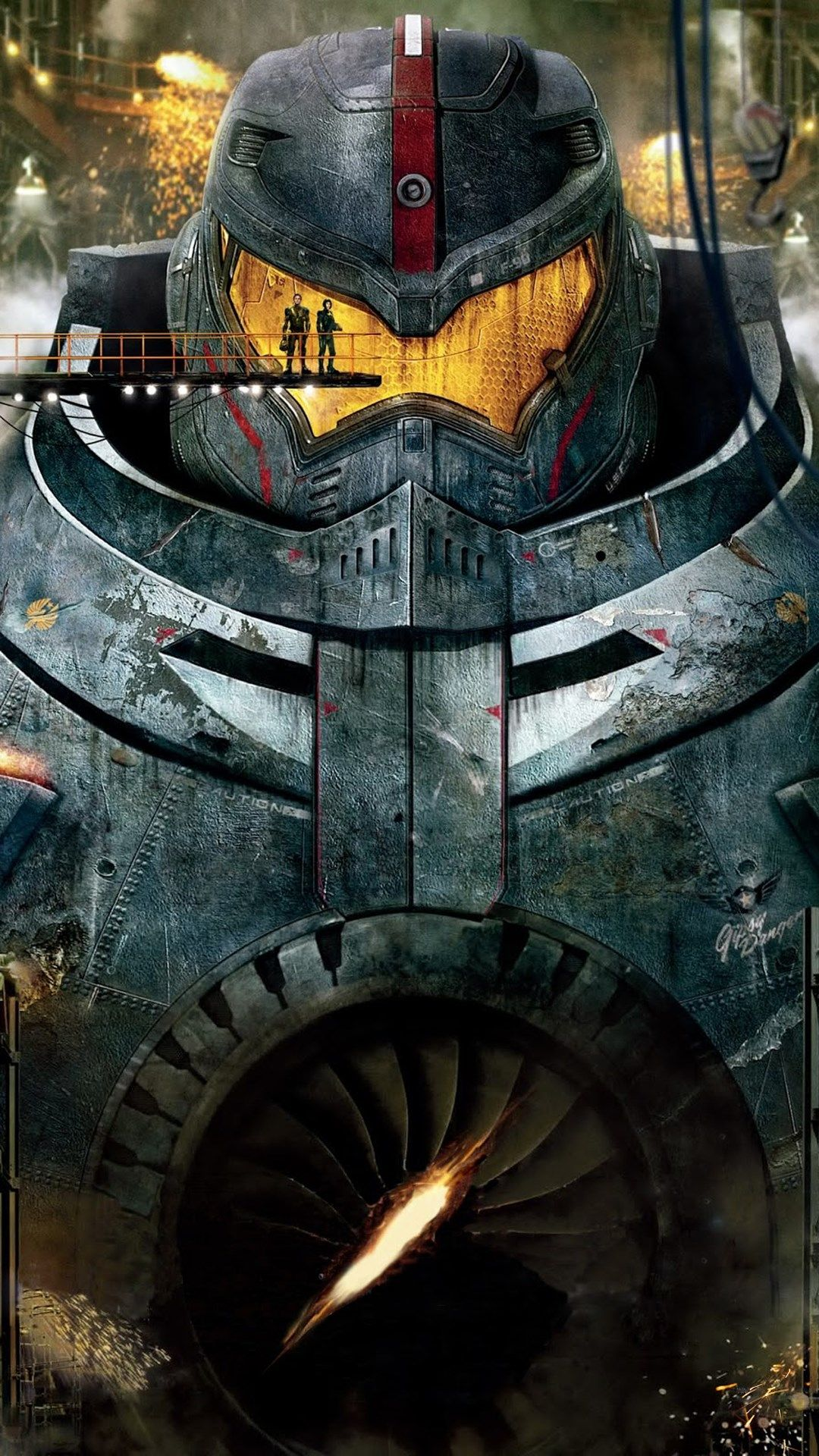 Pacific Rim Robot Wallpaper For Android Pacific Rim Movie Pacific Rim Movie Posters