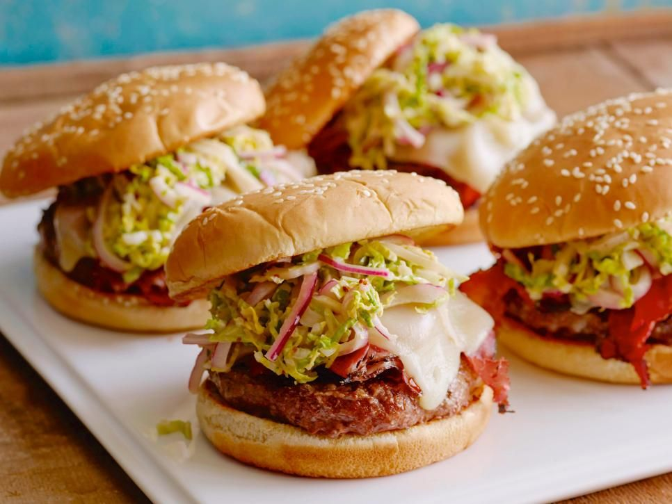 Best burger recipes classic sliders lamb bison more cooking cooking channel serves up this fat doug burger recipe plus many other recipes at forumfinder Choice Image