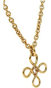 Chanel Chanel Knot Logo Pendant Necklace Vintage chanel