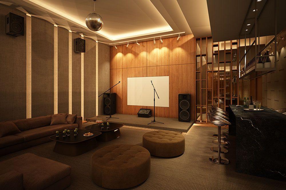 Luxury House Karaoke Room Google Search Karaoke Room Entertainment Room Design Karaoke