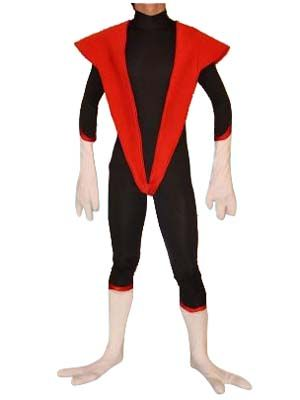 Blakc u0026 Red Nightcrawler Spandex Superhero Costume This nightcrawler costume is made of all spandex which is elastic breathable and comfortable.  sc 1 st  Pinterest & Blakc u0026 Red Nightcrawler Spandex Superhero Costume This ...