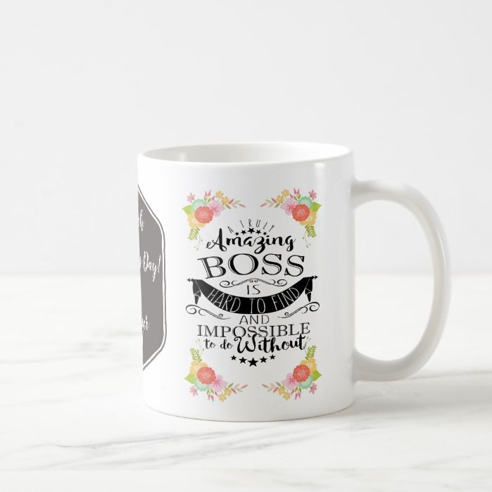 best boss mug, customised mug, amazing boss coffee mug | Zazzle.com #bosscoffee