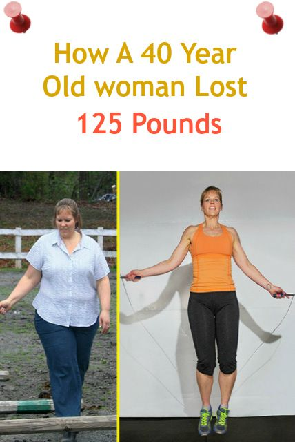 How A 40 Year Old Woman Lost 125 Pounds Weight Loss Success