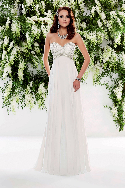 Victoria Jane OLIVIA Backless wedding dress, Wedding