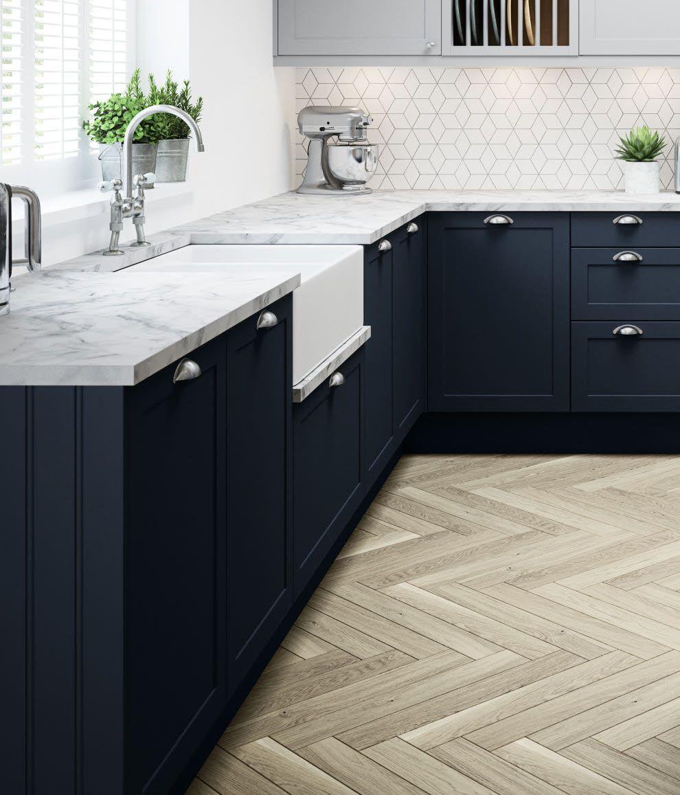 Dunham Midnight kitchen Kitchen design, Open