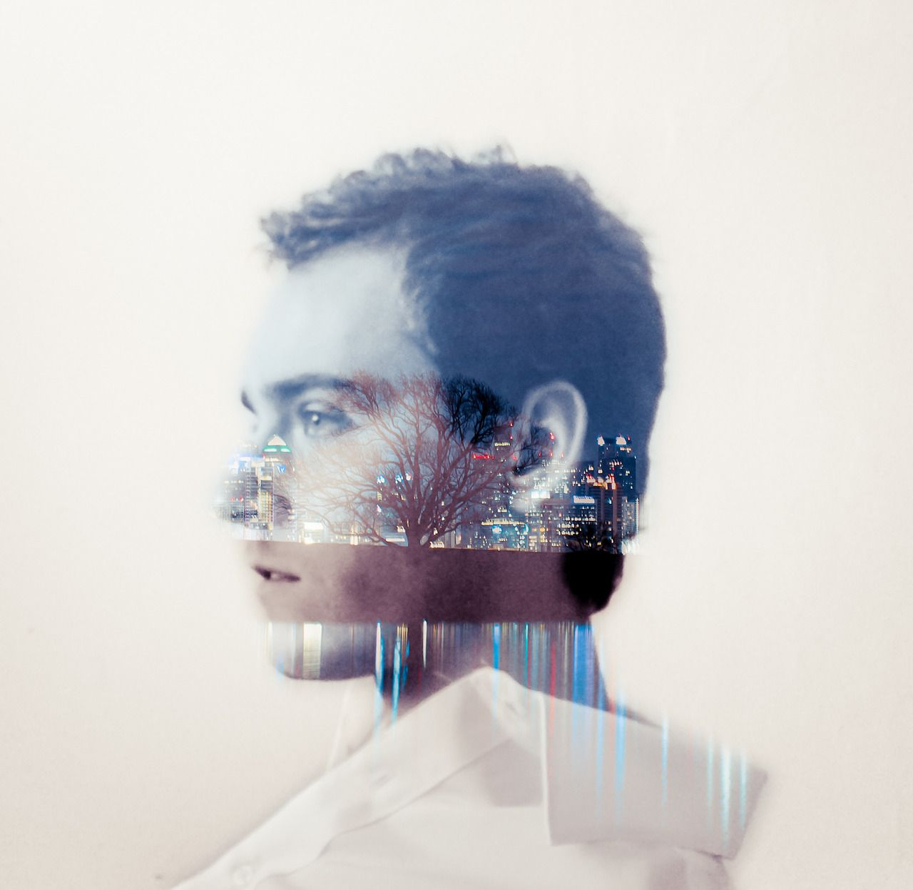 People + Nightscapes: Double Exposure Photography by Daniel Barreto | The Fox Is Black