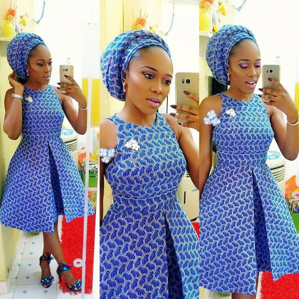 Check out this lovely ankara short gown styles check out this