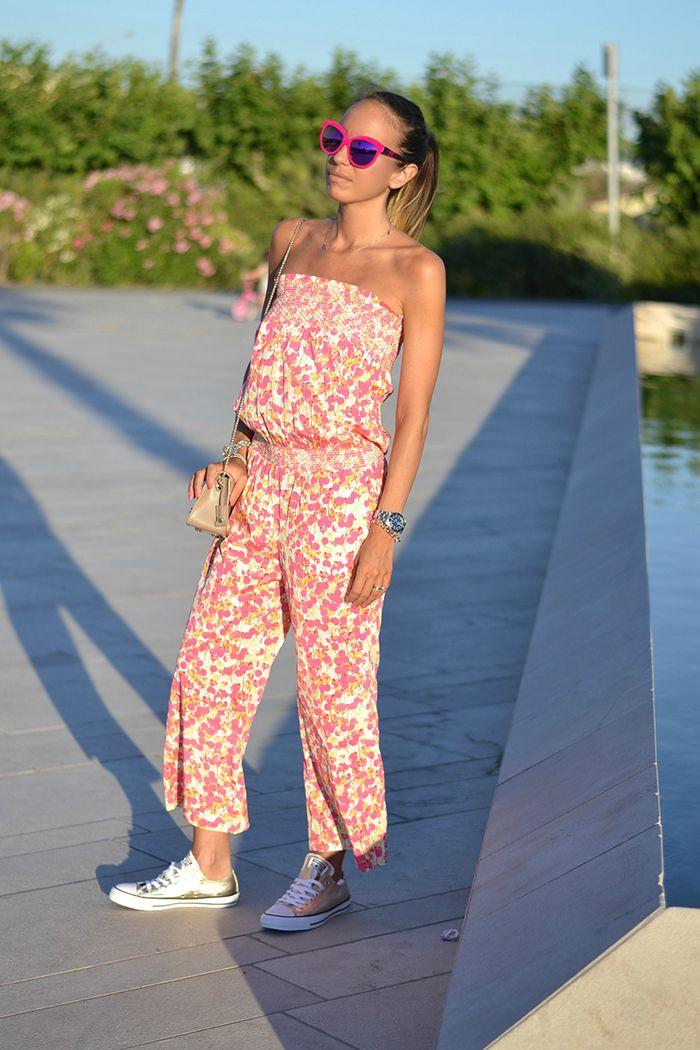 Floral jumpsuit #viadelleperle