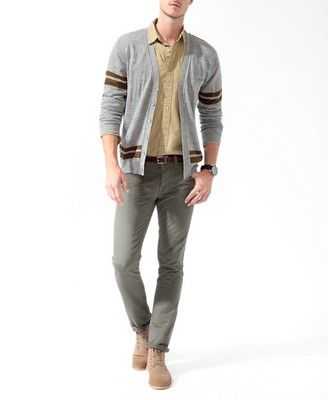 Two-Tone Cardigan Sweater   FOREVER 21 - 2017306669