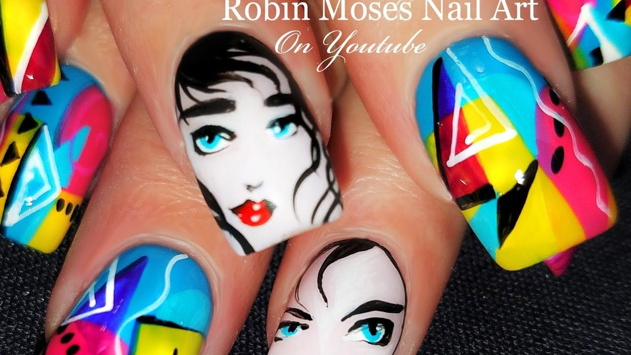 PAINT THOSE NAILS! Patrick Nagel Inspired Nail Art | Pop Art Design ...