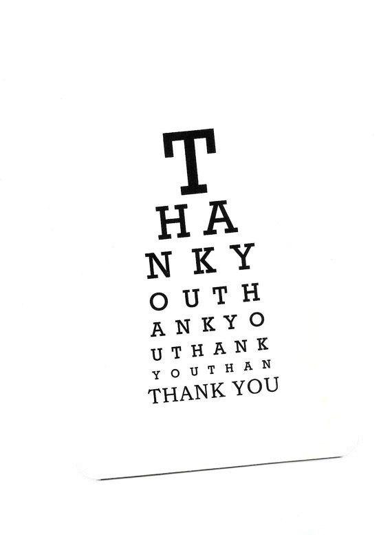 Eye Chart Cardank Youeye Charteye Chart Cardper Goodseye
