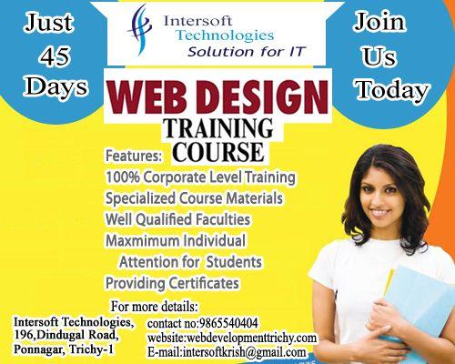 Intersoft Technologies Email Intersoftkrish Gmail Com Ph 9865540404 Website Http Webdevelopmenttric Corporate Training Digital Marketing Company Web Design