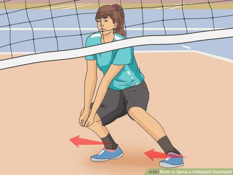 3 Ways To Serve A Volleyball Overhand Wikihow Volleyball Volleyball Workouts Volleyball Serve