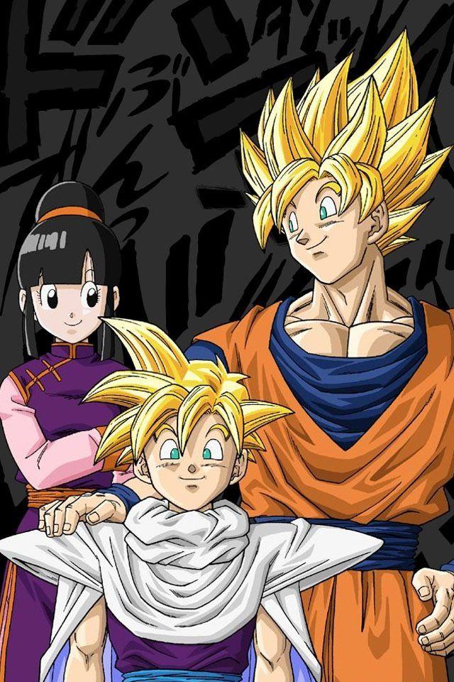 Dbz Goku X Gohan X Chi Chi Dragon Ball Goku Anime Dragon Ball Dragon Ball Art