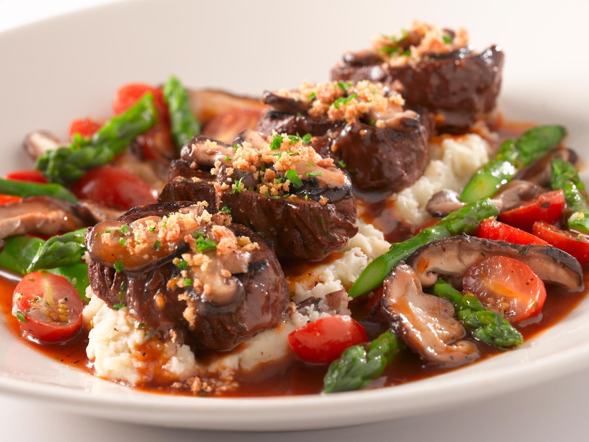Grilled Steak Medallions Healthy Menu Cheesecake Factory Restaurant Recipes