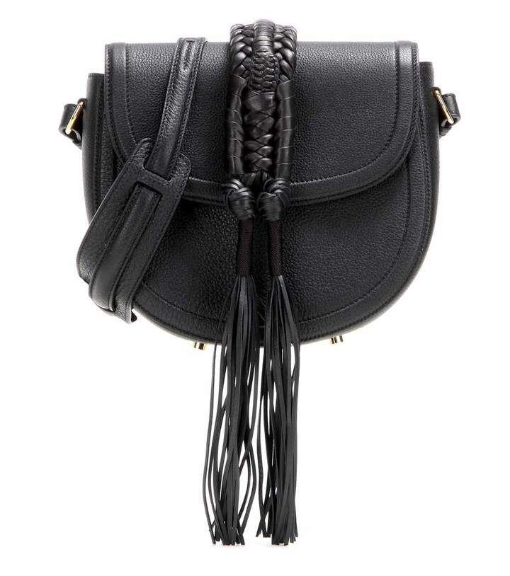 Altuzarra Ghianda Knot Saddle leather shoulder bag