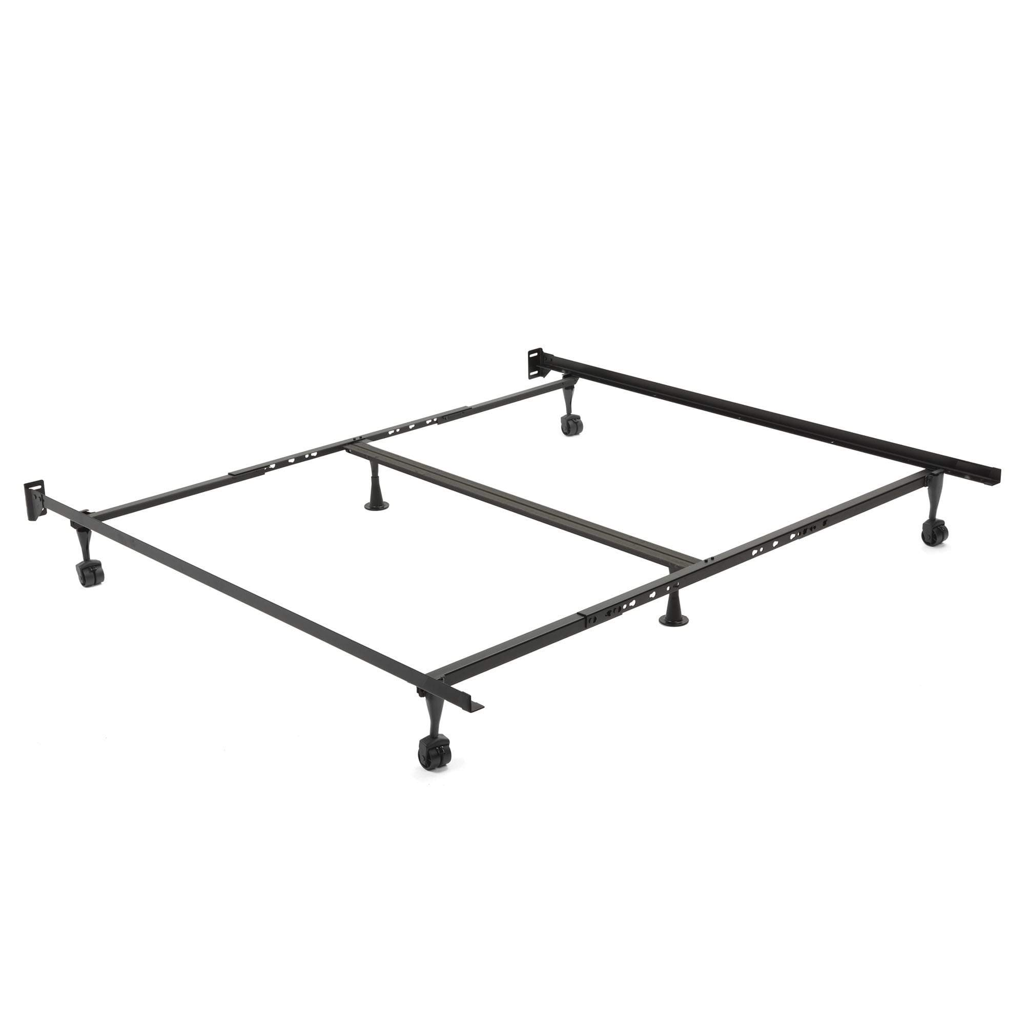 Restmore Adjustable 806R Bed Frame w/ Double Center Support & (4) 2 ...