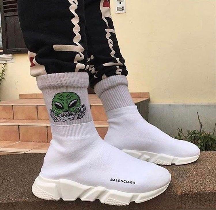 08b99adb634d White Balenciaga speed runner ✓ | sneakers | Balanciaga chaussure ...