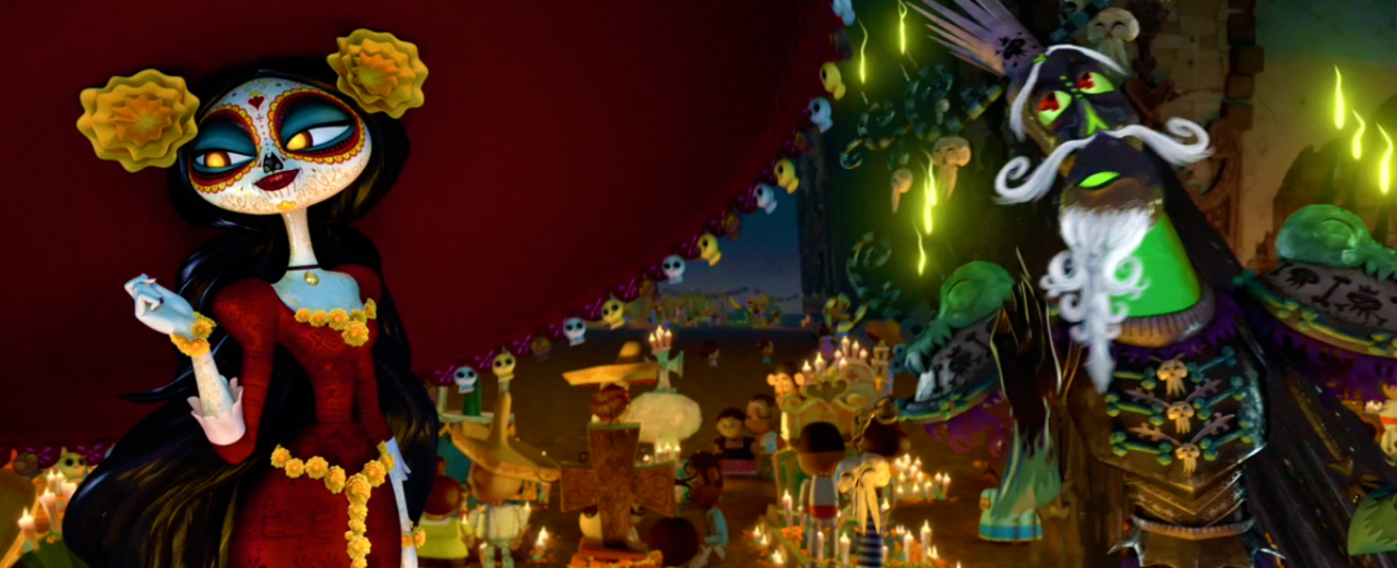 Book of life screenshots on computer
