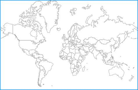 Free printable outline world map maps pinterest outlines free world map hd outline usa map bing images map of usa states blank map of usa states gumiabroncs Image collections