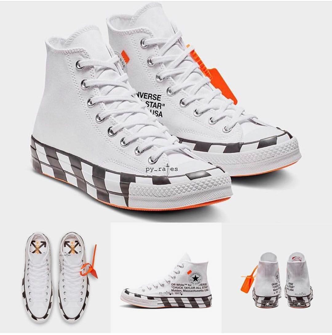 Off white converse 2018 v2 #mensstyle #street #streetfashion