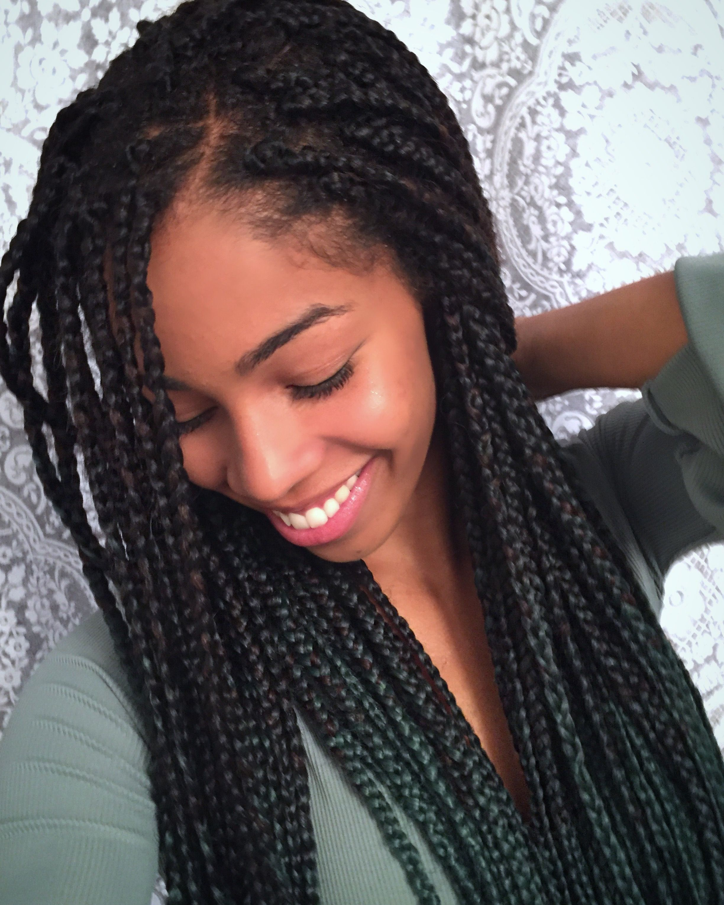 Box Braid Inspiration Protective Styles for Natural Hair