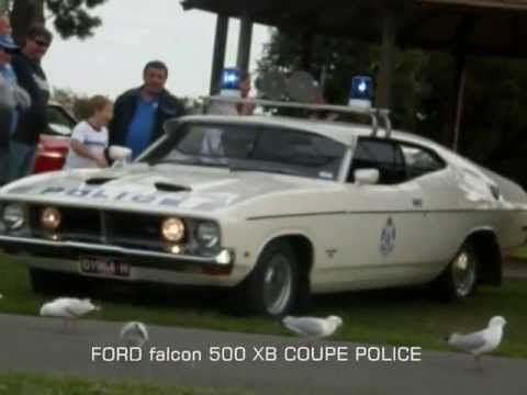 Ford Falcon 500 Xb Coupe Police Vehicle With Images Police
