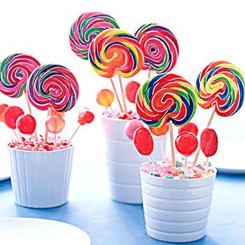 explore lollipop centerpiece centerpiece ideas and more - Ideas Cumpleaos
