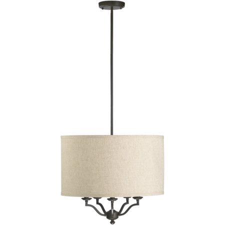 The Quorum Atwood 5 Light Drum Pendant is a unique blend of style and simplicity. Made of premium quality materials, this light pendant is sturdy and dura...