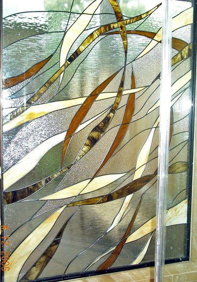Creative artglass insulated art glass shower panel set into bath creative artglass insulated art glass shower panel set into bath enclosure to create planetlyrics Gallery