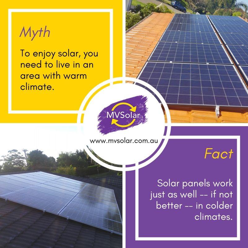 Solar Myth Fact Solar Solar Solutions Solar Panel System