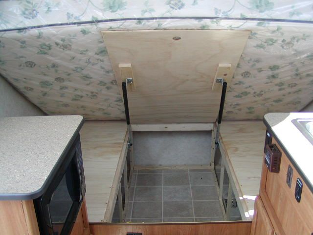 Our Aliner Restoration Bed Lift Idea 2compact Travel