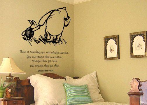 Classic winnie the pooh nursery piglets room and kids rooms for Classic pooh nursery mural