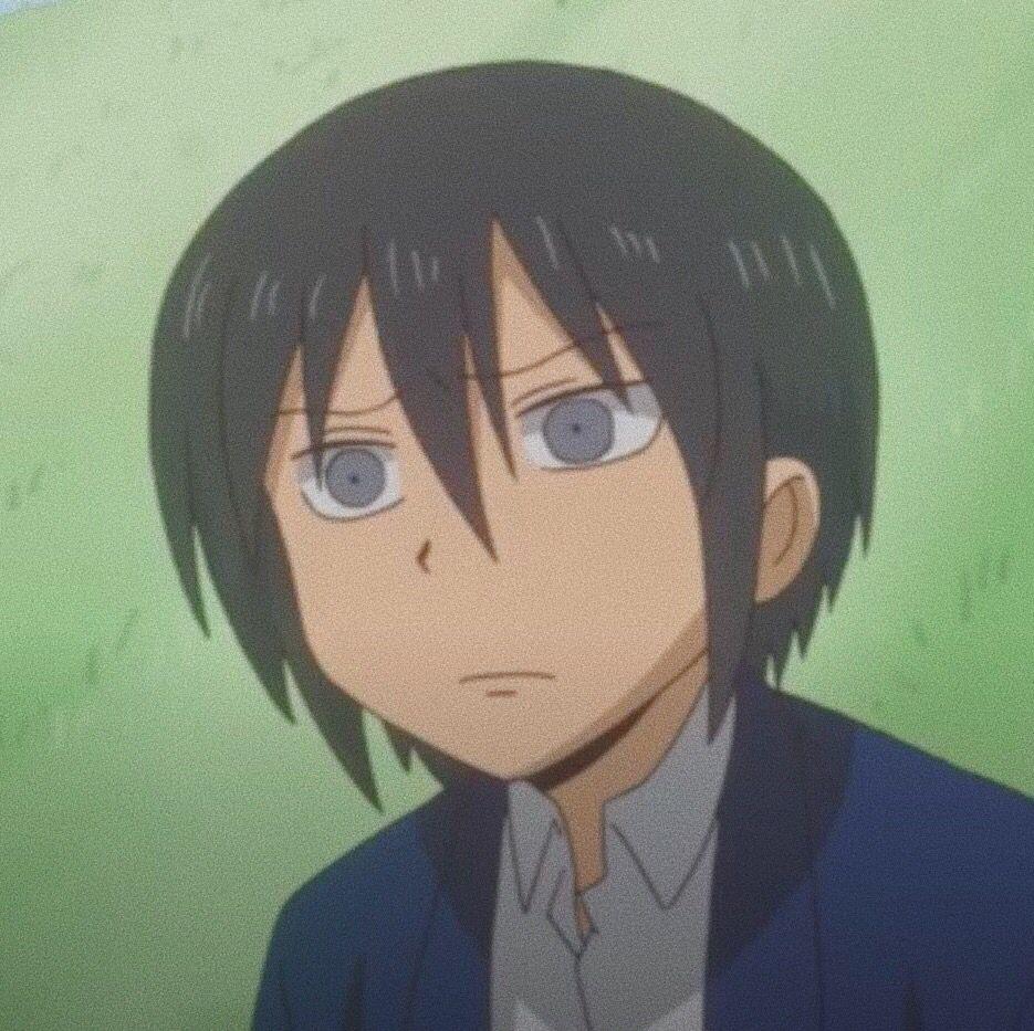 Tadakuni   Danshi Koukousei no Nichijou   Nichijou, School boy, Anime