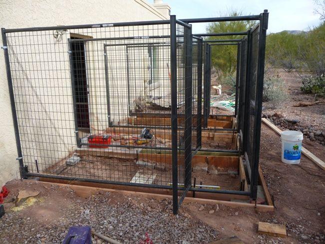 Do it yourself dog kennel kennels pinterest dog for Dog breeding kennel design
