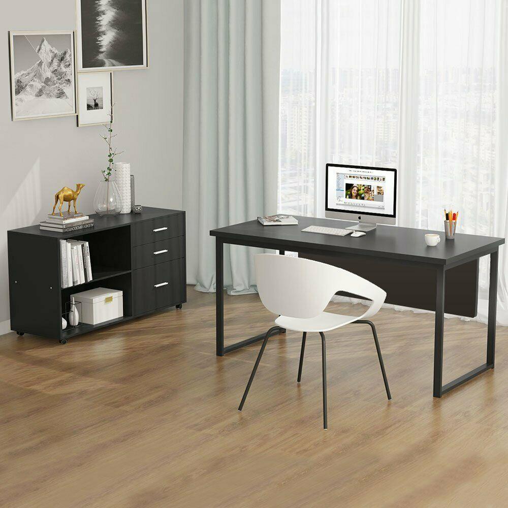 Office Deskorganization: Tribesigns Working Desk 55'' Modern Computer Desk With