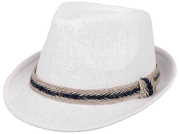 5c5d238c ThunderCloud Women and Men Straw Fedora Sun Hat - Outdoor Cap w/Band Review