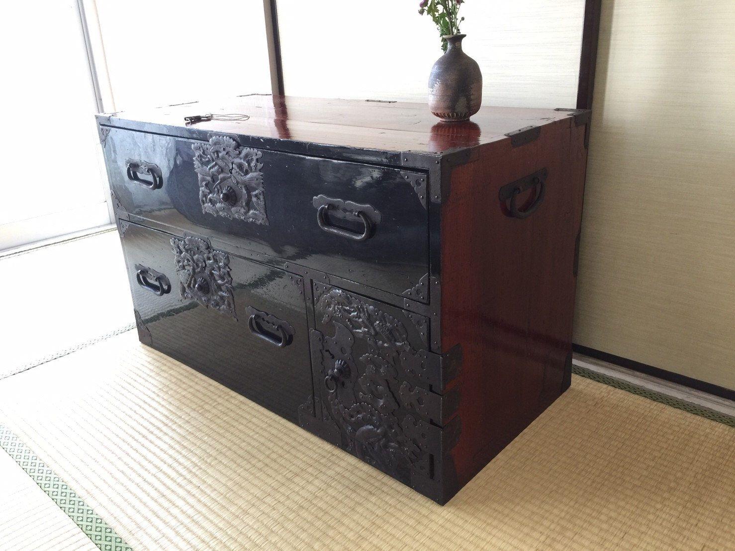 Epingle Sur Meuble Antique Japonais