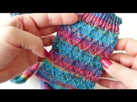 Kaffeebohnen Muster Stricken Youtube Sock Knitting Patterns Knitting Sock Patterns