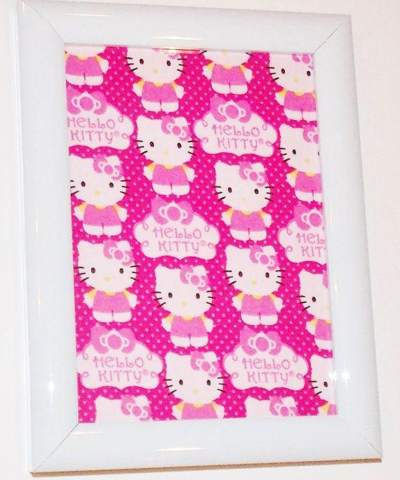 Hello Kitty Framed Room and Wall Decor | With my Children :) | Pinterest