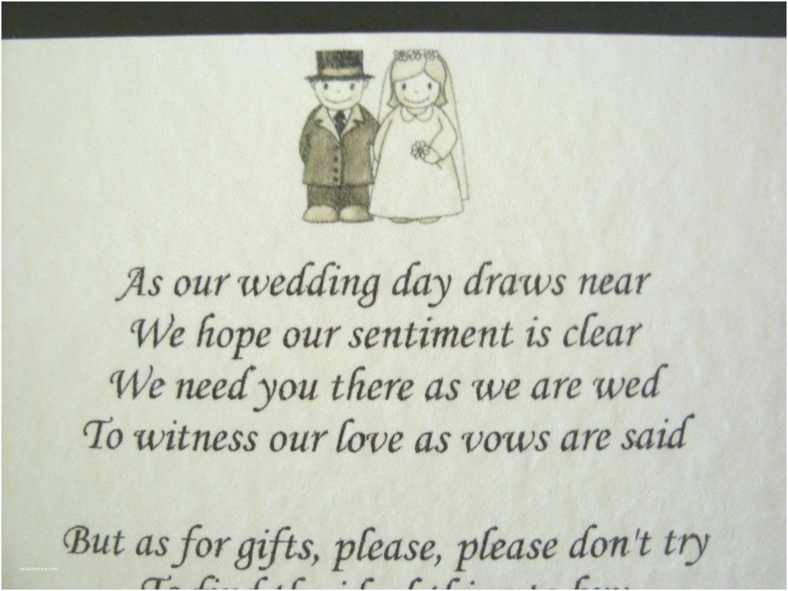 Wedding Invitation Wording No Gifts But Money In 2020 Wedding Poems Wedding Invitation Wording Money Gift