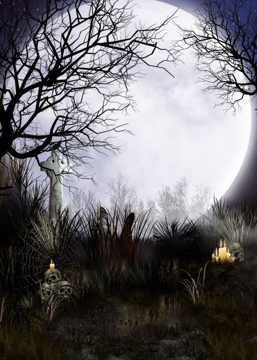 Creepy tree tubes and halloween backgrounds all holiday for Creepy trees for halloween