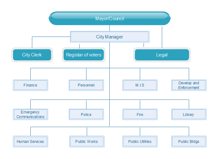 Marketing Org Chart  Organizational Chart    Infographics