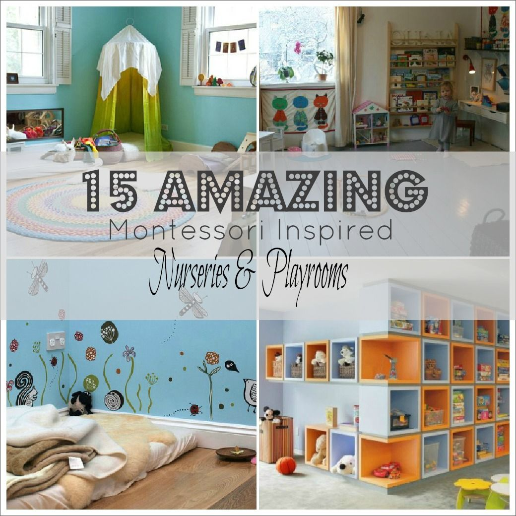 Amelia S Room Toddler Bedroom: Montessori Playroom On Pinterest