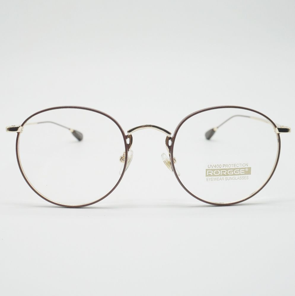 9e76097a8d bd EYEWEAR Vintage Round Eyeglasses Men Women Glasses Full Rim Spectacles  MG8Br  Notspecified