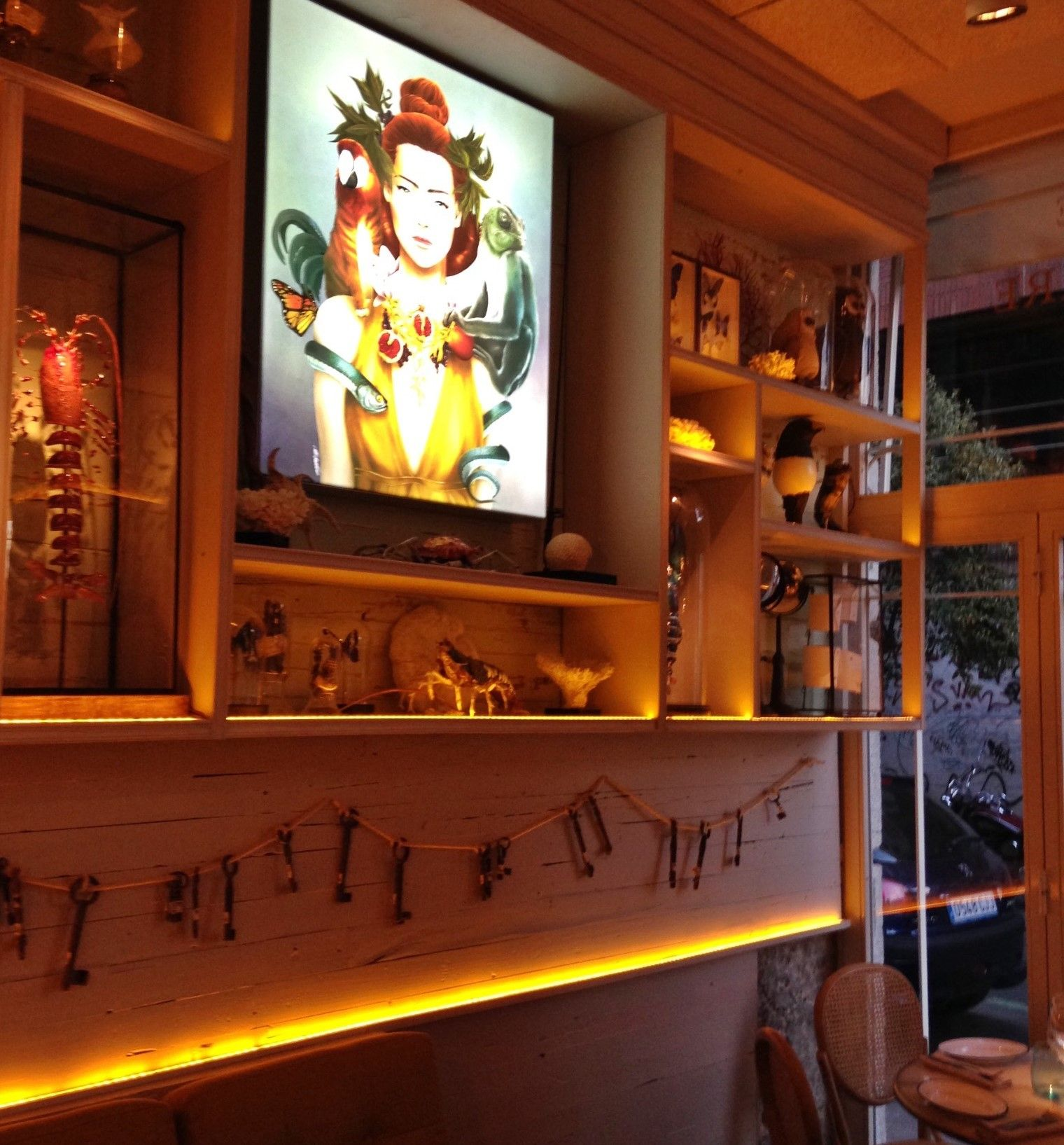 Raro Rare, un restaurante tan diferente como sabroso